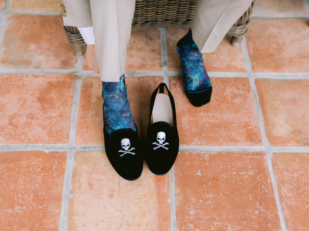 Pirate Groom Shoes