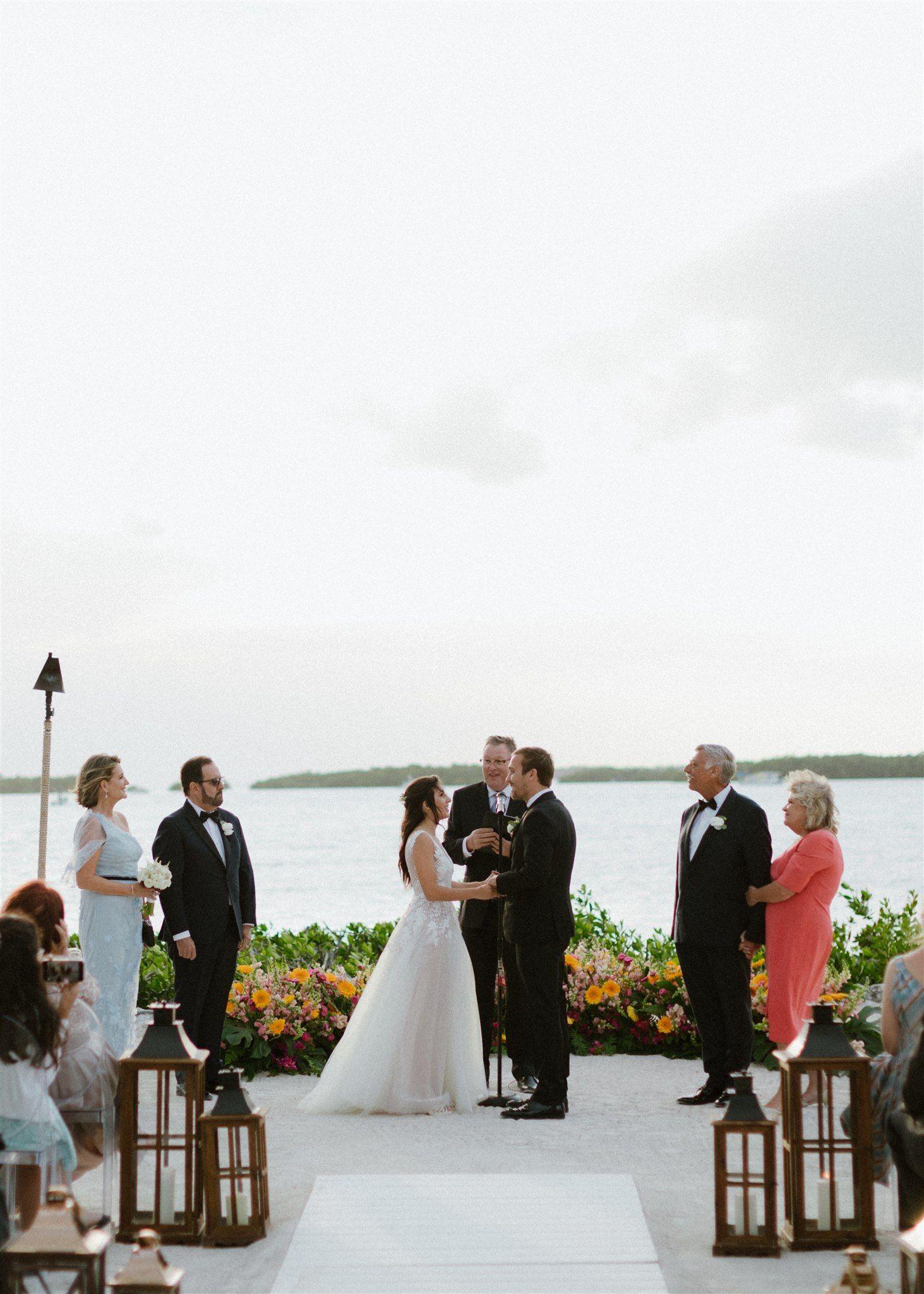 Morada Bay wedding ceremony