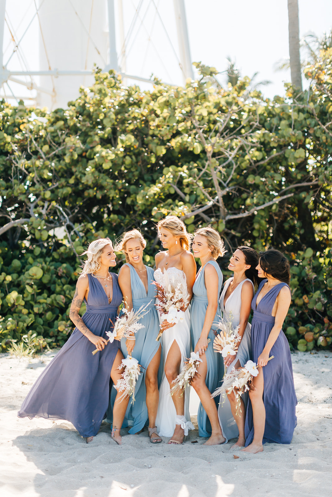 Boca Raton bridal party
