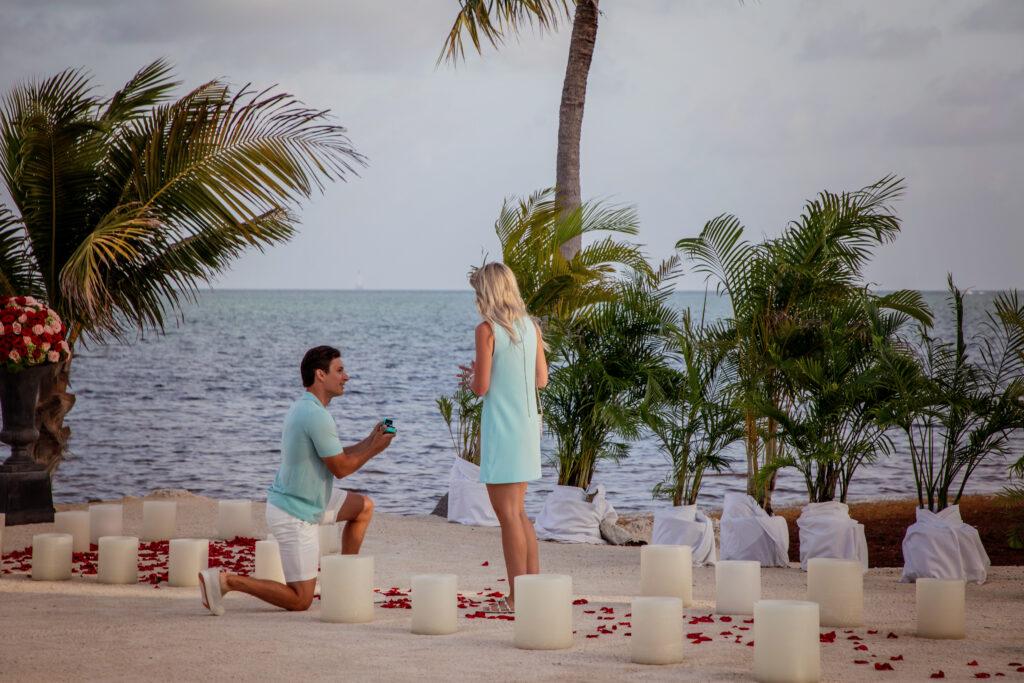Florida keys wedding engagement